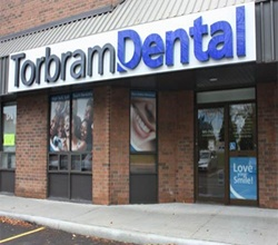 Outside view of Torbrom Dental
