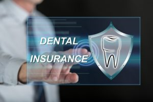 Screen showing dental insurance