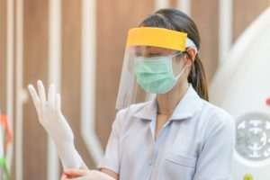 Brampton dentist prepares for dental cleaning in COVID-19
